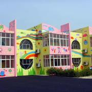 唯美系列幼儿园墙体画