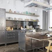 灰色调单身公寓设计