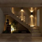 两层别墅楼梯设计