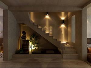 180平米化繁为简色彩诡异的极简主义风格别墅装修设计