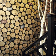 咖啡店背景墙设计