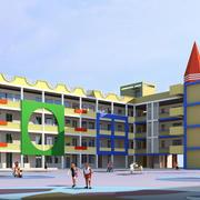 市中心幼儿园装修