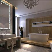 欧式风格洗手间设计