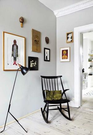 尽显优雅绅士风格:英式公寓交换空间装修效果图