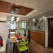 现代创意三室一厅装修