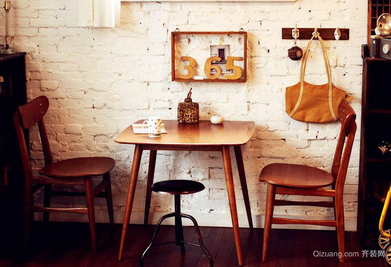 时尚都市复古怀旧风格咖啡厅装修效果图大全