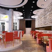 唯美色调饭店设计图片