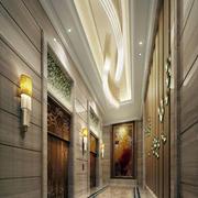 酒店大厅走道设计