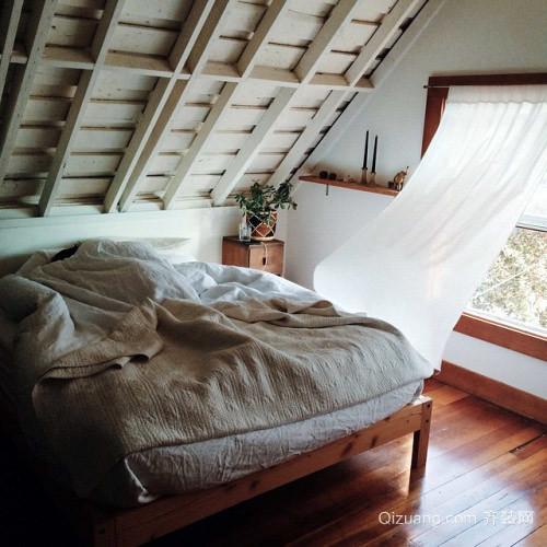 120平北欧风情翩翩公寓式住宅装修效果图
