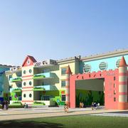幼儿园外观装修图片