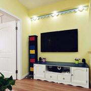 两室两厅背景墙装修