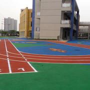 幼儿园塑胶跑道装修