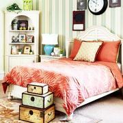 清新系列卧室壁纸装修