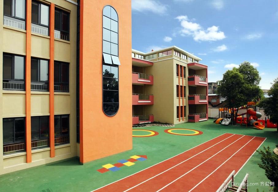 有爱有未来:天真淳朴系列幼儿园装修设计效