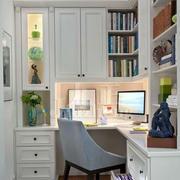 小书房书桌效果图