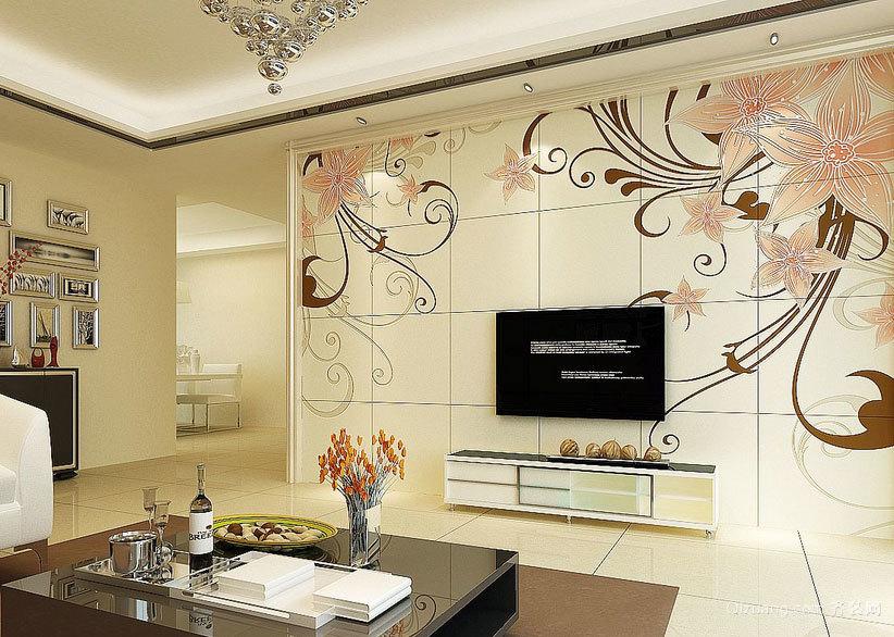 设计唯美的精致欧式电视背景墙装修效果图大全