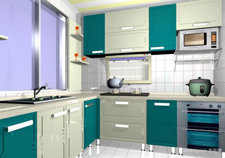 家家都能买得起的橱柜设计效果图
