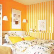 温馨型卧室壁纸装修