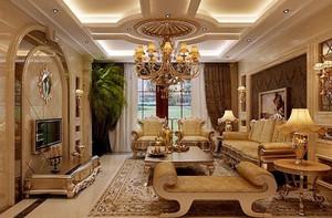 独树一帜的欧式风格客厅装修效果图大全