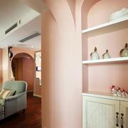 三室一厅玄关装修图片