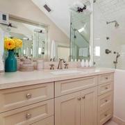 唯美型浴室柜效果图