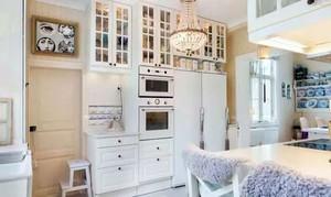 120平米精心设计的上世纪美式白色乡村风格老房装修图