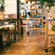咖啡店走道设计图片