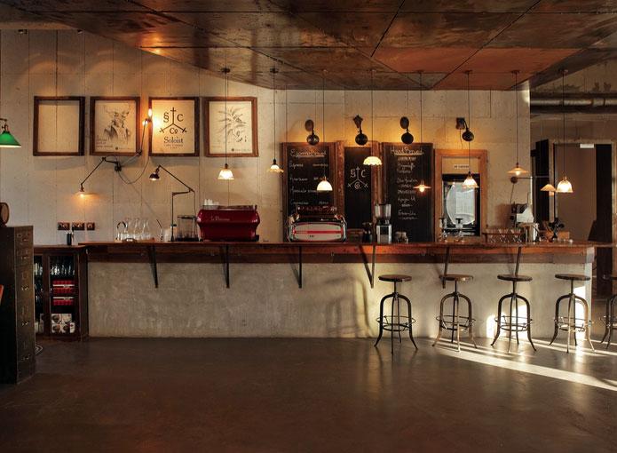 时尚都市 复古 怀旧风格 咖啡厅装修效果图 大全