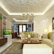 简朴型客厅装修图片