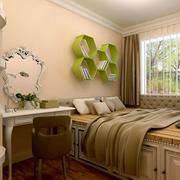 跃层卧室装修图片