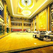 酒店大厅地板砖设计