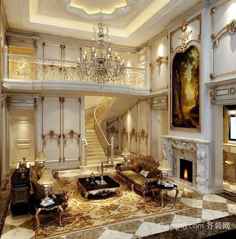 彰显身份的欧式别墅装修效果图