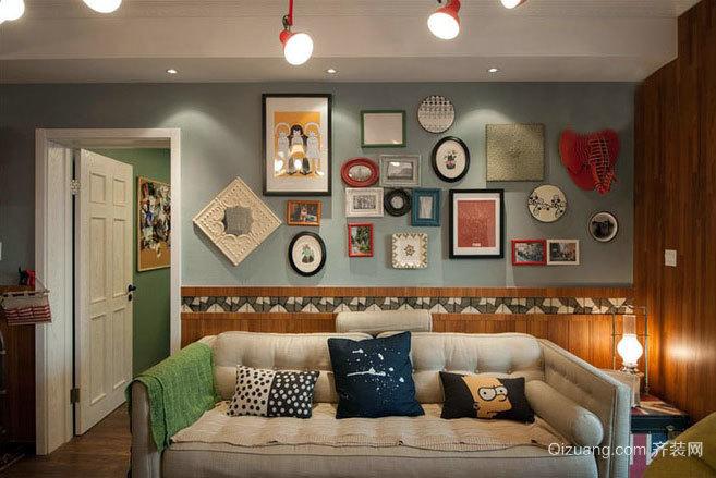 15万元创造110平米田园雅居三室一厅家庭装修效果图