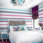 美观型卧室壁纸装修