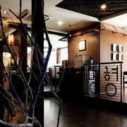 料理店面地板砖装修