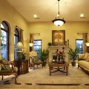 温馨色调 客厅装修图片