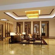 温馨型中式客厅装修