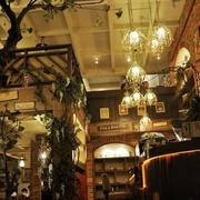 咖啡店吊顶设计图片
