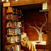 沉稳型小书房效果图