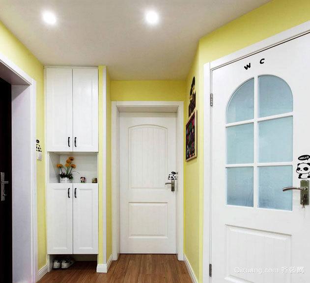 2015童话般精彩的两室两厅室内装修设计效果图