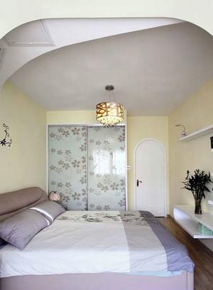 我的地盘我做主 浪漫田园两室一厅室内装修设计效果图
