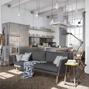 单身沙发公寓设计