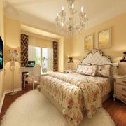 欧式风格卧室壁纸装修