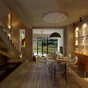两层别墅木地板设计