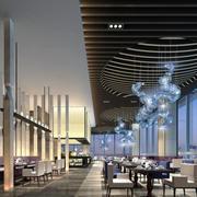 简朴型饭店设计图片