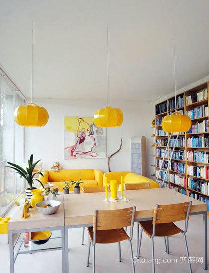 家居餐厅桌椅装修效果图