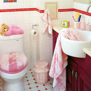 小卫生间地板砖装修