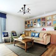 单身公寓灯饰设计图片
