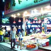 夜景水果店装修图片