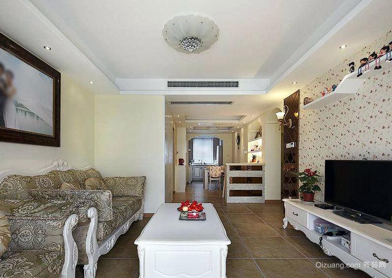 历经3个月打造甜美温馨的两室一厅室内装修设计效果图